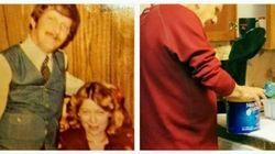 41年間連れ添った亡き妻を思い、同じコーヒー缶とスプーンを使い続ける男性