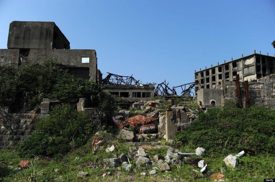 長崎の軍艦島