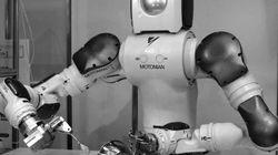 日本の「お好み焼きロボット」で最低賃金upに反対?