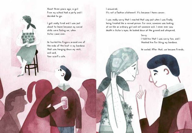 How Do You Talk To Children About Cancer? This Graphic Novel Makes A Brave