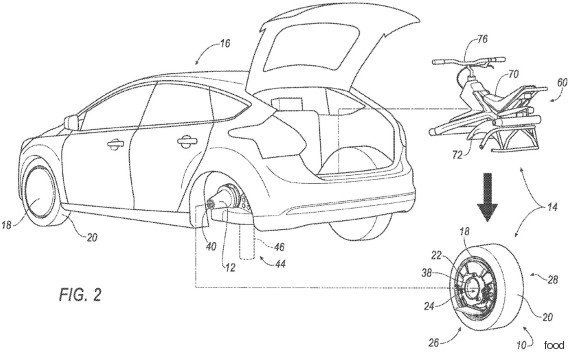 フォード、「一輪車に変形できる電気自動車」の特許を取得 どういう仕組み?