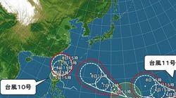 【台風情報】3つの台風 今後の動きと日本への影響