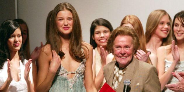 NEW YORK - JANUARY 20: Ford Models' Super Model of the World grand prize winner from the Ukraine Natalyia...