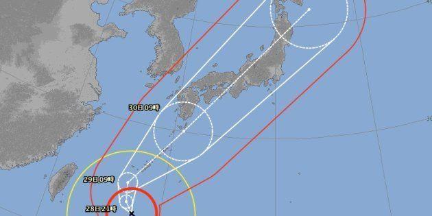 「台風24号」日本列島を縦断し東京襲来か。知っておきたい10の備え