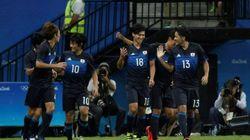 サッカー日本代表、ナイジェリアに4-5で敗れる 猛追及ばず【リオオリンピック】