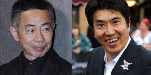 とんねるずの木梨憲武さん(左)と石橋貴明さん