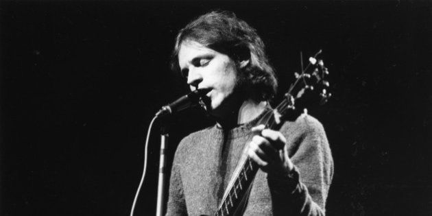 LONDON - 26th NOVEMBER: Jack Bruce performs live on stage with Cream during their farewell performance...