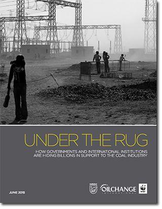 地球温暖化を促進する石炭支援の現状:報告書『隠された石炭支援』を発表