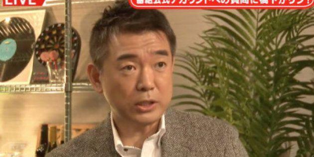 橋下氏、子連れ市議問題に「赤ちゃんの泣き声がうるさいって、お前らの方がうるさいバカ!」