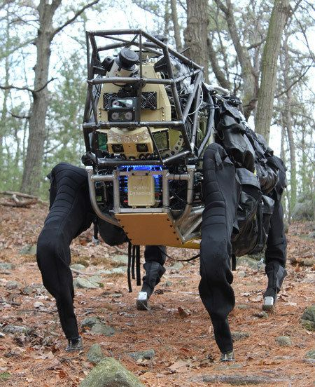 Googleのキモかわ四脚ロボ、米軍から不採用通知を受ける その理由は...