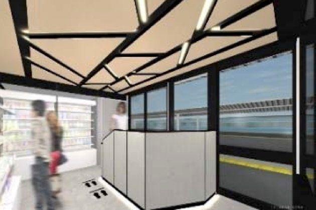 JR赤羽駅ホームに「無人決済店舗」が登場 10月17日から