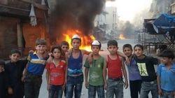 【シリア内戦】包囲されたアレッポに住む子供たち、団結して政府軍に抵抗する(画像)