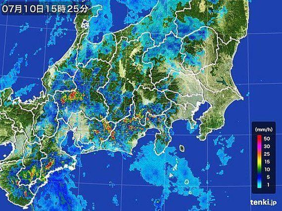 台風8号動き速まる