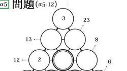 三角パズルに挑戦 第34回