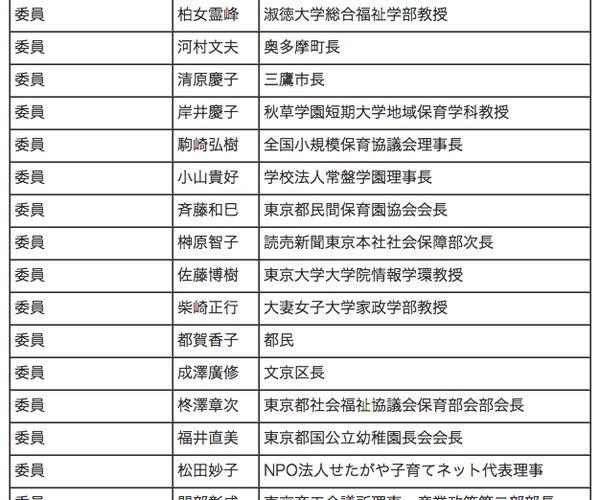 東京都子供・子育て委員に就任しました!!