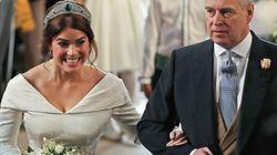 英国・ユージェニー王女、挙式で手術跡を隠さず。その行動に称賛の声が集まった。