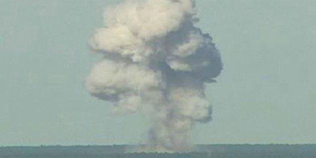 「通常兵器で最強」アメリカ軍、アフガニスタンのIS拠点に大規模爆風爆弾を投下