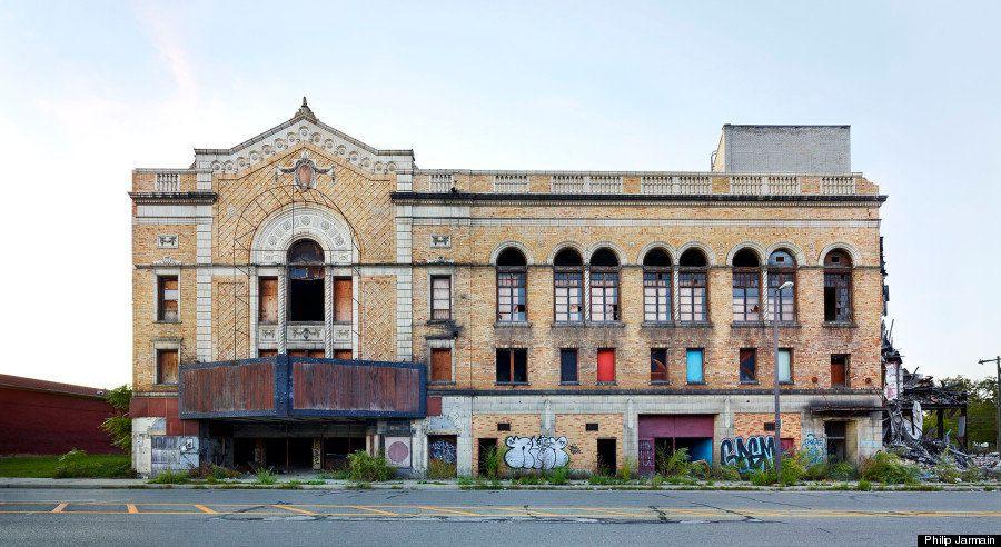 デトロイトの豪華な廃墟:ギャラリー