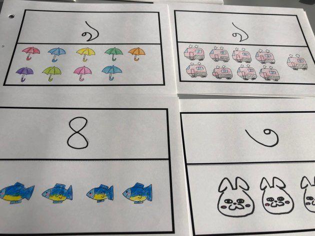 バングラデシュの子どもたちに贈る算数教材