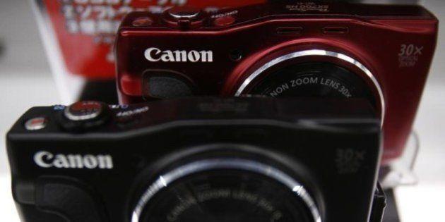 キヤノン 監視カメラ世界首位のアクシス買収提案、価格引き上げの公算小さく
