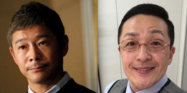 前澤友作氏とスマイリー・キクチ氏
