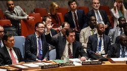シリア化学兵器を調査する国連安保理の決議案、ロシア拒否権で廃案「犯人を決めつけている」