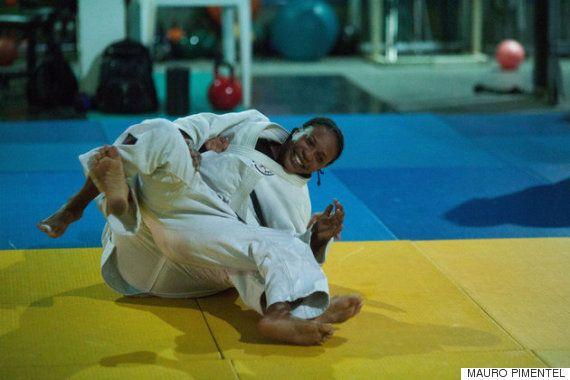 リオオリンピックにかける思い、コンゴ難民の柔道選手が語る「人生の決定的な瞬間」