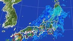 大雨のおそれ 注意すべき地域と時間帯は?