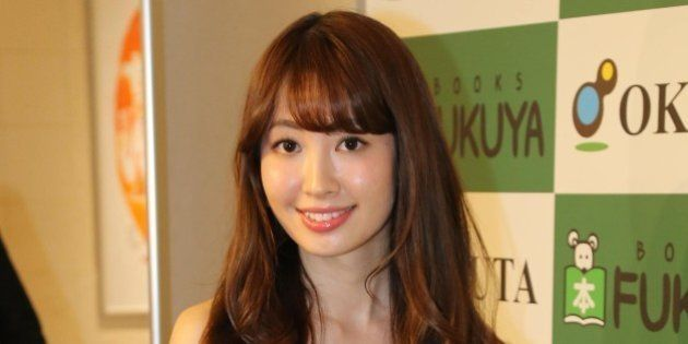 TOKYO, JAPAN - MARCH 23: Haruna Kojima of AKB 48 attends PR event for her new photo book on March 23,...