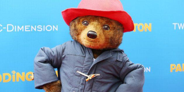 HOLLYWOOD, CA - JANUARY 10: A general view of 'Paddington' bear at the Los Angeles premiere of 'Paddington'...