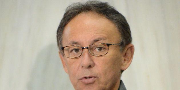 沖縄県知事選で初当選した玉城デニー氏