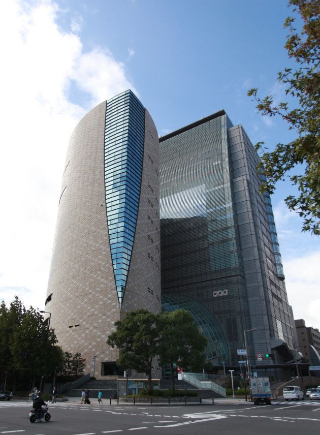 相沢さんが勤めていたNHK大阪放送局=大阪市中央区