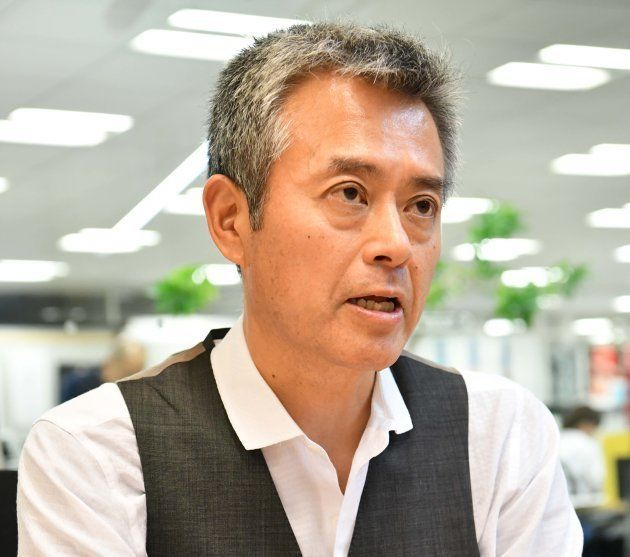 今後も森友学園問題の取材を続ける意気込みを語った相沢さん=東京