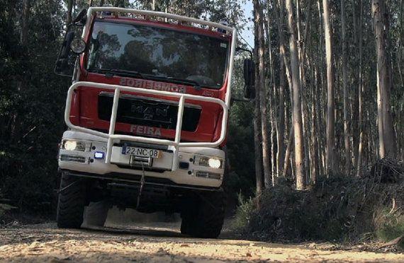 【動画】ポルトガルで活躍する森林火災用消防車