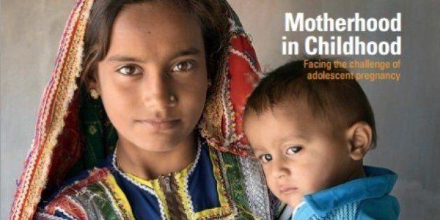 少女の妊娠・出産、途上国で年200万人 15歳未満、世界人口白書