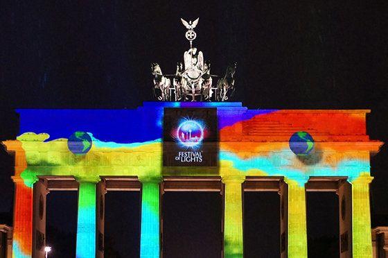 独ベルリンの秋を華やかに彩る光の祭典「Festival of