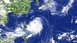 10年に一度程度の猛烈な台風が沖縄へ