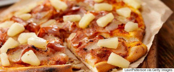 「スパゲッティ入りピザ」を作ってみたよ。
