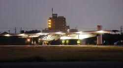 ソーラー・インパルス2、名古屋を離陸 世界一周に向けてハワイへ