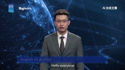 中国メディアでAIアナウンサーがデビュー。人間そっくりすぎる(動画)