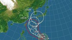 台風8号 6日までに非常に強い勢力へ