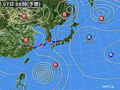 台風8号 6日までに非常に強い勢力へ(中川裕美子)