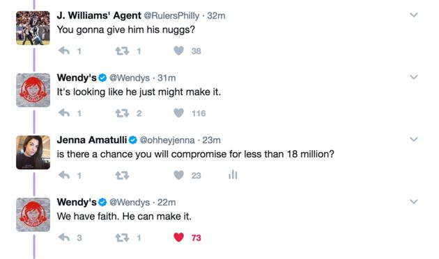 「チキンナゲット1年分、無料で欲しい」→ウェンディーズ「1800万RTされたらね」