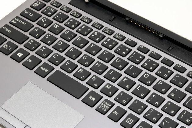 ▲キーボードの仕様や構造もVAIO