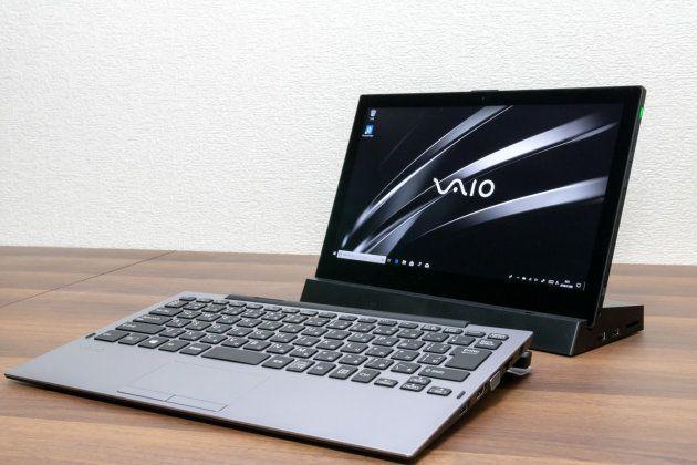 ▲キーボード側にバッテリーが搭載されたモデルなら、分離した状態でもワイヤレスキーボードとして使える