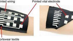 東大、布地に印刷できる伸縮可能な導体を開発