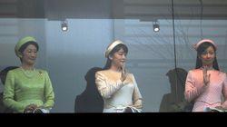 佳子さま、天皇誕生日の一般参賀に初出席【画像】