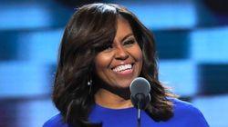 「女性が大統領になることが当たり前に」ミシェル夫人がヒラリー氏支持、演説に喝采の声【動画】