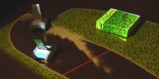 日本人が発明した「自分の部屋をマリオカートのサーキットに変える方法」