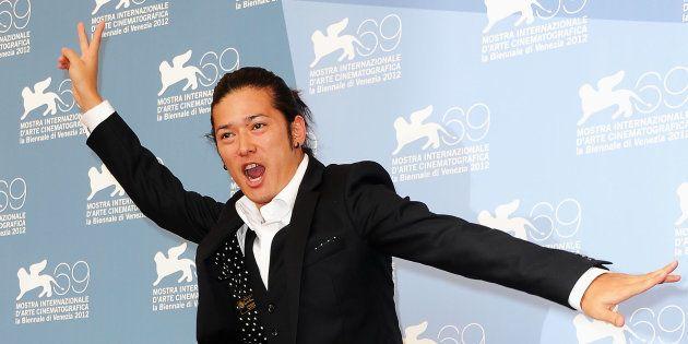 2012年の高岡蒼佑さん